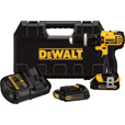 FREE SHIPPING — DEWALT 20 Volt Max Li-Ion Cordless Compact Hammerdrill — 1/2in. Chuck, Model# DCD785C2 The price is $199.00.
