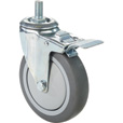 Fairbanks Thermoplastic Rubber Total Lock Swivel Caster — 275-Lb. Capacity, 5in., Model# TL-S11-03-5TPR The price is $21.59.