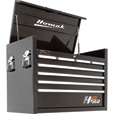 Homak H2PRO 36in. 8-Drawer Top Tool Chest — Black, 35 1/4in.W x 21 3/4in.D x 24 1/2in.H, Model# BK02036081 The price is $379.99.