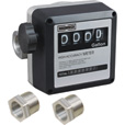 Roughneck Mechanical Fuel Meter — 1in. Inlet/Outlet, 5-32 GPM Flow Rate The price is $89.99.