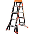 Little Giant Select Step Type 1A Adaptive Stepladder — 6–10Ft. Telescoping, 5-Position, Fiberglass, Model# M6-10 The price is $361.99.