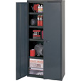 Edsal Welded Vault Cabinet — 48in.W x 24in.D x 84in.H, Model# The price is $1,022.99.