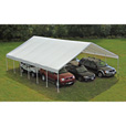 ShelterLogic Ultra Max Industrial Outdoor Canopy — 40ft.L x 30ft.W x 13ft.H, Model# 27773 The price is $2,179.99.