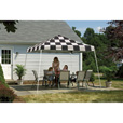 ShelterLogic Pop-Up Outdoor Canopy Tent — 12ft. x 12ft., Open Top, Slant Leg, Checkered Flag, Model# 22547 The price is $189.99.