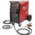 FREE SHIPPING — Lincoln Electric Power MIG 256 Flux-Core/MIG Welder — 230V, 300 Amp, Model# K3068-1