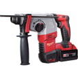FREE SHIPPING — Milwaukee M18 Cordless SDS+ Rotary Hammer Kit — 18 Volt, Model# 2605-22