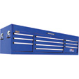 Homak H2PRO 72in., 10-Drawer Top Tool Chest — 71 3/4in.W x 21 3/4in.D x 20 5/8in.H, Blue, Model# BL02010720 The price is $699.99.
