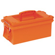 Sport Utility Dry Box – 15in.L x 7 3/4in.W x 6 1/2in.D, Without Tray, Orange, Model# 560115 The price is $10.99.