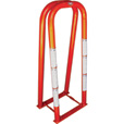 Ame International 2-Bar Tire Inflation Cage with Tire Inflator — Model# 24421