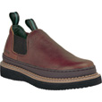 FREE SHIPPING — Georgia Men's Giant Romeo Work Shoes - Soggy Brown, Size 10 1/2 Wide, Model# GR2740 The price is $84.99.
