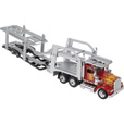 New Ray Die-Cast Truck Replica — Kenworth W900 Auto Transporter Truck, 1:43 Scale, Model# 15213
