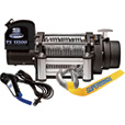 Superwinch Tiger Shark 12 Volt DC Powered Electric Truck Winch with Remote — 13,500-Lb. Capacity, Wire Rope, Model# 1513200 The price is $599.99.