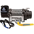 Superwinch Tiger Shark 12 Volt DC Powered Electric Truck Winch with Remote — 17,500-Lb. Capacity, Wire Rope, Model# 1517200 The price is $749.99.