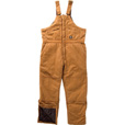Polar King Insulated Bib Overall - Saddle, Medium, Regular Length, Model# 276.28 The price is $29.99.
