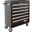 Homak H2PRO 36in. 6-Drawer Rolling Tool Cabinet — 36 1/8in.W x 22 7/8in.D x 42 1/4in.H