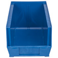 Quantum Storage Heavy Duty Stacking Bins — 14 3/4in. x 8 1/4in. x 7in. Size, Blue, Carton of 12 The price is $94.99.