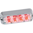 Custer Products LED Strobe Light Bar – Red, Model# STRL4R The price is $44.99.