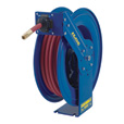 Coxreels Air Hose Reel — With 1/2in. x 50ft. PVC Hose, Max. 250 PSI, Model #EZ-SH-450
