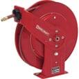Reelcraft Air/Water Hose Reel — With 3/8in. x 50ft. PVC Hose, Max. 300 PSI, Model# 7650 OLP The price is $334.99.
