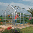 Palram Snap & Grow Greenhouse — 8ft.W x 16ft.L, 128 sq. ft., Model# HG8016 The price is $1,599.00.