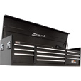 Homak H2PRO 72in., 10-Drawer Top Tool Chest — 71 3/4in.W x 21 3/4in.D x 20 5/8in.H