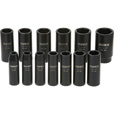 Klutch Chrome Moly Deep Impact Socket Set — 13-Pc., 1/2in. Drive, SAE The price is $29.99.