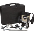 FREE SHIPPING — Rockwell Plunge Router Kit — 2 HP, 9 AMP, 30,000 RPM, Model# RK5030K