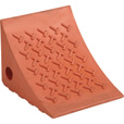 Ironton Polyurethane Wheel Chock — 8in.L x 7in.W x 6in.H The price is $17.99.
