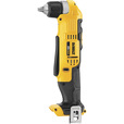 FREE SHIPPING — DEWALT 20V MAX Li-Ion Cordless Electric Right-Angle Drill — Tool Only, 3/8in. Keyless Chuck, 2000 RPM, Model# DCD740B