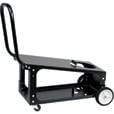 Lincoln Electric Welding Cart — 14 in. W x 21 in. H x 28 in. D, Model# K2275-3 The price is $129.99.