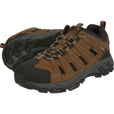 Gravel Gear Men's Waterproof Low Oxford Hiker Boots — Brown