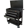 Excel Rolling Tool Cart — 4 Drawers, Model# TC400