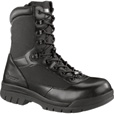 Bates 8in. Steel Toe Insulated Side Zip Boots — Black, Model# E02320
