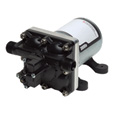 Shurflo 12 Volt Self-Priming Fresh Water Pump — 180 GPH, 1/2in. Ports, Model# 408-101-E65 The price is $119.99.