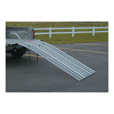 Five Star Non-Folding Arched Aluminum Loading Ramp Set  — 1,500-Lb. Capacity, 7-Ft. L The price is $369.99.