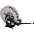LiquiDynamics Hose and Hose Reel for Diesel Exhaust Fluid (DEF) — 25ft.L, Model# 43002DEF-25 The price is $549.99.