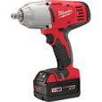 FREE SHIPPING — Milwaukee M18 Cordless Impact Wrench Kit with Detent Pin — 1/2in. Drive, 450 Ft.-Lbs. Torque, 2 Batteries, Model# 2662-22 The price is $379.00.