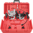 FREE SHIPPING — Milwaukee Plunge Router Kit — 1 3/4 HP, Model# 5615-24 The price is $219.99.