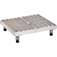 Vestil Adjustable Serrated Work-Mate Stand — 24in.W x 24in.D, Aluminum, Model# AHW-L-2424-A The price is $539.99.
