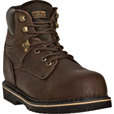 McRae Men's 6in. Ruff Ryder Steel Toe EH Work Boots - Dark Brown, Size 7 1/2, Model# MR86344 The price is $81.00.