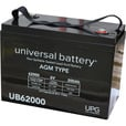 UPG Sealed Lead-Acid Battery — AGM/SLA-Type, 6V, 200 Amps, Model# 45966 The price is $339.99.
