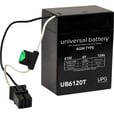 UPG Ride-On/Back-Up Battery — 6V, 12 Amps, Model# UB6120TOY The price is $34.99.