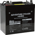 UPG Sealed Marine Battery — 12V, 55 Amps, Model# UB12550 The price is $199.99.