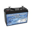 UPG Sealed Marine Battery — 12V, 110 Amps, Model# UP121100 The price is $319.99.