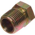 Apache Reducer Bushing — 3/4in. M NPTF x 3/8in. F NPTF The price is $4.99.