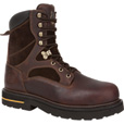 Georgia Men's Legacy 8in. Work Boots- Brown, Size 9 1/2, Model# GBOT037