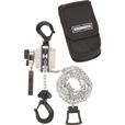 Roughneck Manual Lever Chain Hoist — 1/2-Ton Capacity, 12in., 5Ft. Lift The price is $74.99.
