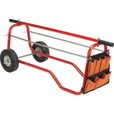 Ironton Wire Caddy Cart with Storage Bag — 330-Lb. Capacity The price is $79.99.