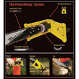 Oregon PowerSharp Bar-Mount Chain Sharpening Kit — For 16in. Chain Saws, Model# 541656 The price is $44.99.