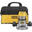 FREE SHIPPING — DEWALT Heavy-Duty Fixed Base Router Kit — 2 1/4 HP, 12 Amp, Model# DW618K The price is $189.00.